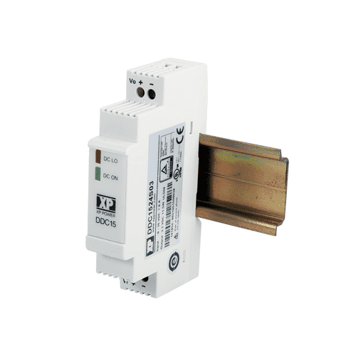 XP Power DDC15 - DIN Rail DC/DC Converter: 15W