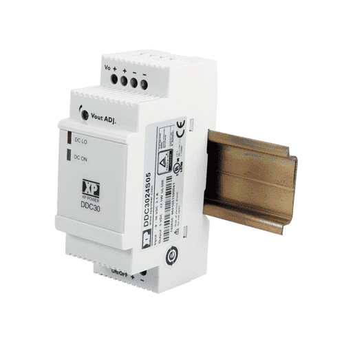 DDC30 - DIN Rail DC Converter: 30W - XP Power - Helios Power Solutions