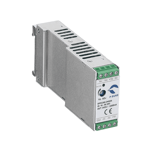DFEC60 - DIN Rail DC/DC Converter: up to 60W - Helios Power Solutions SAFETY MEETS UL60950-1, EN60950-1, & IEC60950-1