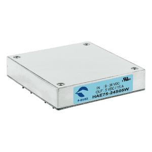 HAE75W - DC/DC Half-Brick  Single Output : 75W