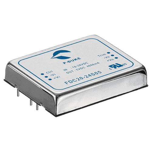 DLP-FDC20-W - DC/DC Converter Single