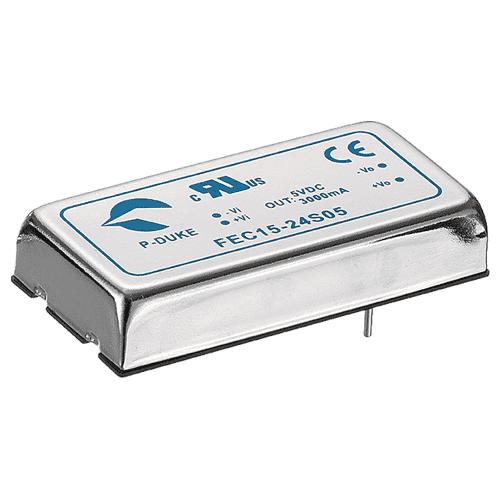 DLP-FEC15 - DC/DC  Converter Single & Dual Output: 15W