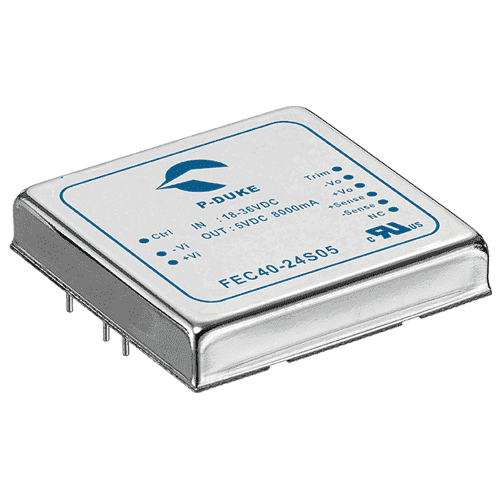 DLP-FEC60 - DC/DC Single Output: 60W - PCB Mouting