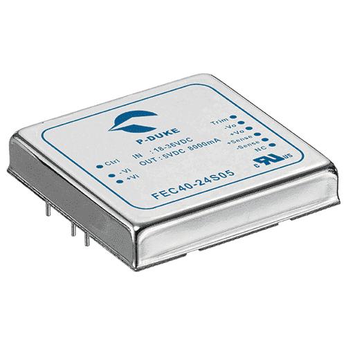 DLP-FEC60 - DC/DC Converter Single Output: 60W - PCB Mounting 24V 48V