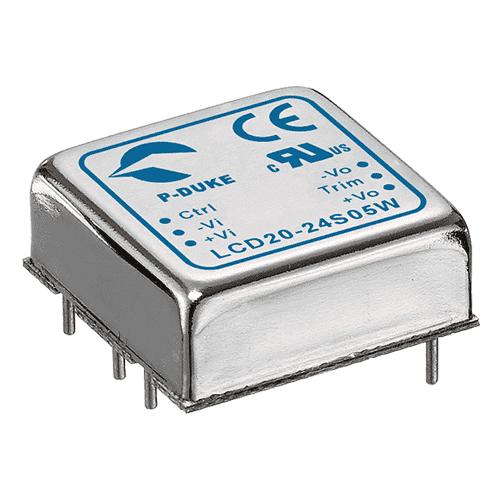 DLP-LCD20W - DC/DC Converter Single & Dual Output: 20W - PCB Mounting