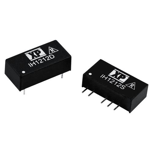 IH DC/DC Converter, Dual output: 2W