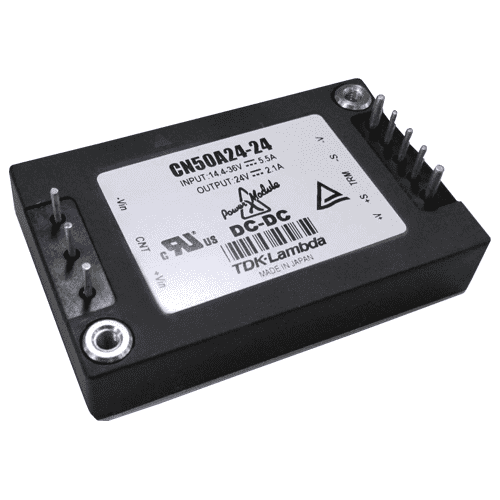CN30A-200A - Half & Quarter Brick DC/DC Converter - Railway Standards EN50155 compliant systems