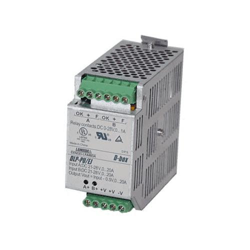 DLP-PU - 24VDC 20A Redundancy Module Din Rail