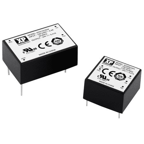 ECE05 - ECE10 - AC/DC Power Supplies 5W - 10W - XP Power