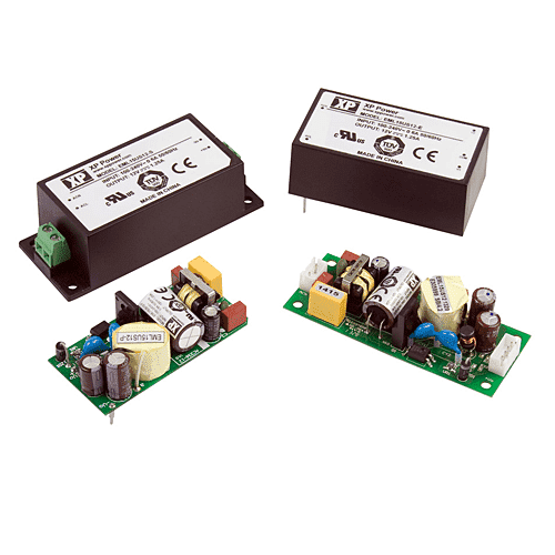 EML15– AC/DC Power Supplies 15 W - PCB Mount AC/DC Power Supply - XP Power