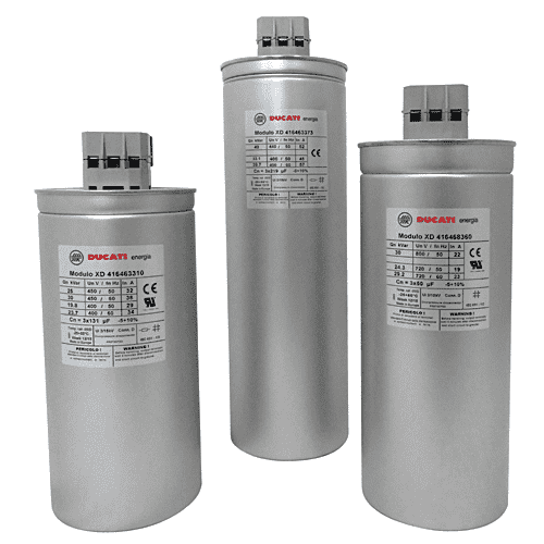 Ducati - Three Phase Capacitors - Power Factor Correction New Zealand