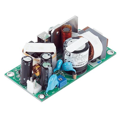 ECF40 Series Open Frame AC-DC Power Supplies 40 Watts XP Power