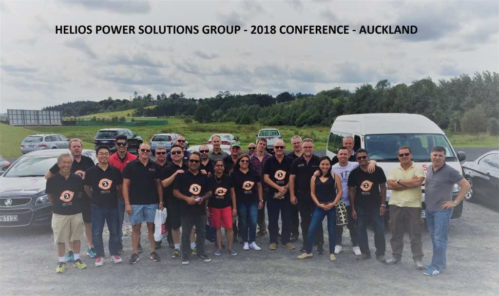 Helios Power Solutions Team - 2018 Conference - Auckland