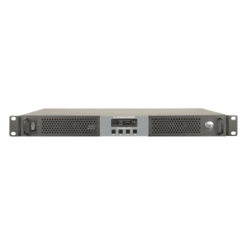 1U Rack Mount DC Power Supply Battery Charger 1600W 800W 12, 24, 48 VDC Output. Ethernet TCP/IP SNMP Wireless Applications