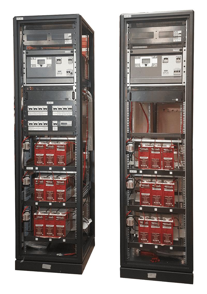 Battery Charger System 110VDC 40Ah Battery Bank Australia IEC61850