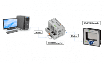 IEC61850 SCADA Battery Charger Electrical Substations