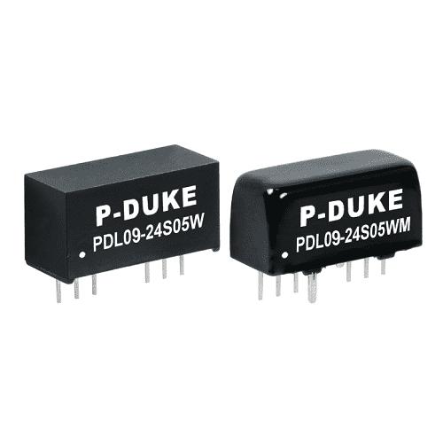 Isolated DC/DC Converter Output Voltage: 3.3V, 5V, 9V, 12V, 15V, 24V, ±5V, ±12V, ±15