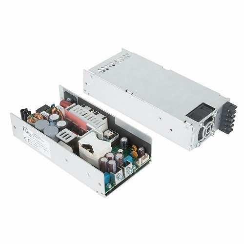 250W 500W DC Power Supply GCU500 XP Power 12V, 15V, 18V, 24V, 36V or 48V output voltage options