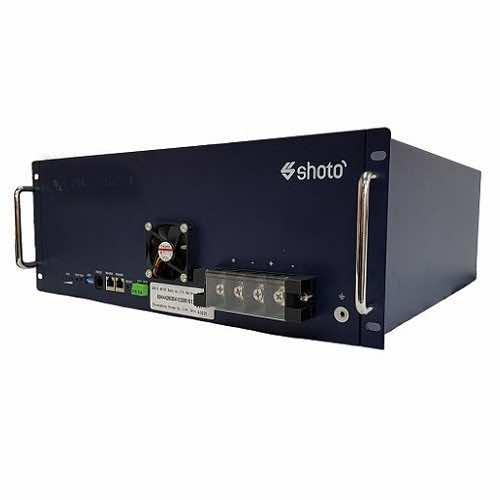 SDA10-48100 100Ah 48V Lithium-Ion Battery U Rack - 100Ah Lithium-Ion Phosphate Battery